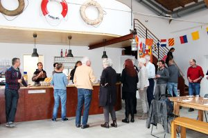 Café-Bistro in der Fischhalle Harburg